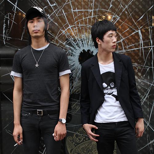 Bae Joon-Hyun och Lee Seung-Woo, två coola sydkoreaner i Seouls Gangnam-distrikt.