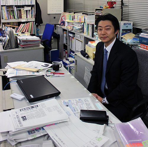Mr. Nishiyama på det japanska ministeriet MLIT.